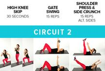 Circuite for fitness / Ideas.  For circuits class, conditioning class / by Alison Wilson