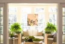 sunroom idea / by Mrs. Champagne