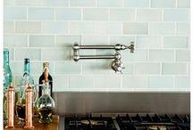 Kitchen Backsplash Ideas / by Cornerstone Builders