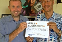 International Day of the Girl / Educating girls is one of the most efficient ways to break cycles of poverty and make the world a better place.  CELEBRATE the 1st ever INTERNATIONAL DAY OF THE GIRL on OCTOBER 11TH.  / by Worldreader