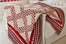 red&white quilts / by Nancy Potter
