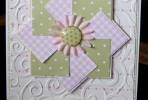 {Cards} Pinwheels / by Becky Prusse