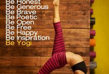 Namaste / Yoga for life.  Breathe deeply.   / by BLUSH Sarah King