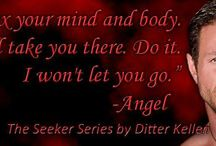 Author Ditter Kellen / Indie author of The Seeker series, Scruples, Enigma and Co-author with Dawn Montgomery for Thunder and Roses / by Carmen Terronez