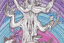 Zentangles / by Vicki Woolhiser