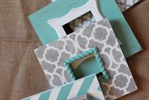 DIY picture frames! / by Sharon G