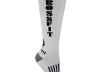 CROSSFIT SOCKS & COMPRESSION SLEEVES / I adore Crossfit and the socks are just genius!  How much fun can you have in a sock! / by Cathi Gaughan-Walton