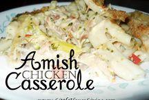 Amish Recipes / by Patsy Raymond