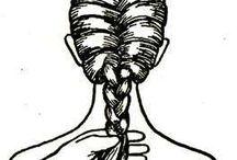French braid for Cleo  / by Mary (Darden) Feddersen