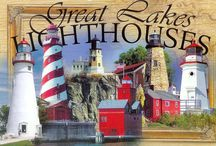 Lighthouses and tourist stuff in Michigan / by Jackie Ames
