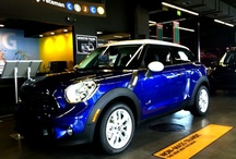 2013 MINI Paceman / Based on the extremely popular MINI Countryman, the new MINI Paceman is a stylish crossover coupe that doesn't sacrifice driving pleasure / by Lyon-Waugh Auto Group