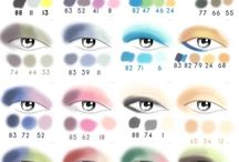Eyeshadow Ideas / by April Battle