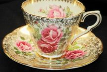 fine bone china and not so fine........ / I like old cups and saucers and all kinds of china and pottery! / by Dolly Hartner