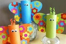 Kid's Arts & Crafts / by Kari Bowman