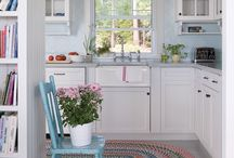 Kitchen and dining room / by Heather Sware