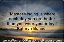 Masterminding / by Kathryn Bonner