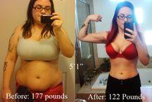 Getting Healthy! / by Morgan Burkhart
