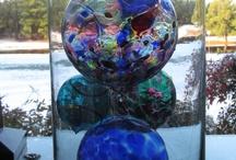 Glass art / by JEANIE Daugherty