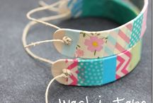 Washi Tape  / I'm so glad I'm not the only one that gets all glittery eyed when I see Washi Tape anything...so dreamy!  / by ℓαяιту ѕтуℓє'ѕ ©