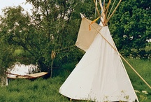 our micro-villa guest tipi / by Eden Nicole Masters