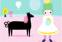 Lilly Bimble Illustration / by Lilly Bimble