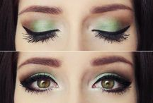 Pretty eye makeup / by Kayla Connelly
