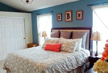 Bedroom re-do / by Jennifer Nelson Burror