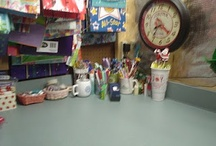 my wrapping counter / by Alison Shaffer (kitchentable4.com)