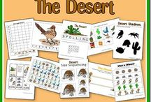 Desert / by Pam from Over the Big Moon