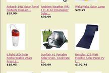 Solar Products & Deals / Solar Products & Deals here: http://astore.amazon.com/preppercom-20?_encoding=UTF8&node=29 / by Prepper Babe
