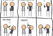Funnies / Enjoy the hilarity / by Lena Serl