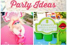Muppets theme party / by Nancy Arabian-Tanachian
