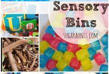 sensory bins / by Julie Swihart