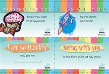 lunch box notes, children jokes / by Betty Farnsworth