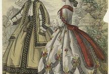 Crinoline Fashion Plates / by Elizabeth Montgomery