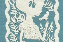 Paper cut Art / by Karen CyLeung