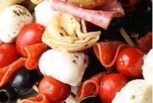 Appetizer ideas / by Holly Zawacki