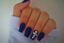 Ideas d color y diseños d uñas  / by eve garcia