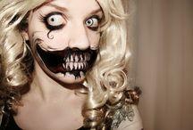 Halloween make-up ideas / by Tori De Leon