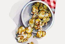 food clip art por Courtney Patterson