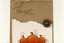 Thanksgiving Cards / by Sheri Frame