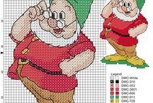 Cross Stitch - Characters  / by May Jerzak