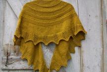 Knit and crochet shawl / by Petra Husaříková