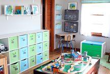 Kid's Playroom ideas / by Caroline Kaplan