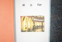 Preschool - Environmental Print / by Mindy Barrios