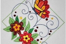 machine embroidery / by Channette Coetzee