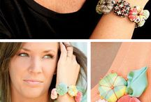 SEW: Fabric Jewelry / by M Avery Designs