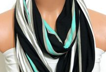 Scarves make the outfit!! / Accessories for all your fashion moments. Evening, daytime - celebratory - special event...you name it - great ways to dress things up or tone a style down. / by Accessories with a Flair!...and Hair