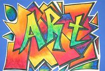 Graffiti Fun / by Adrienne Hurtt