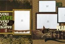 Scrapbook layouts / by Jennifer Yutrzenka